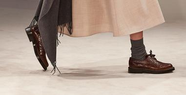 Enzo Bonafe - Exotic Skin Shoes Detail