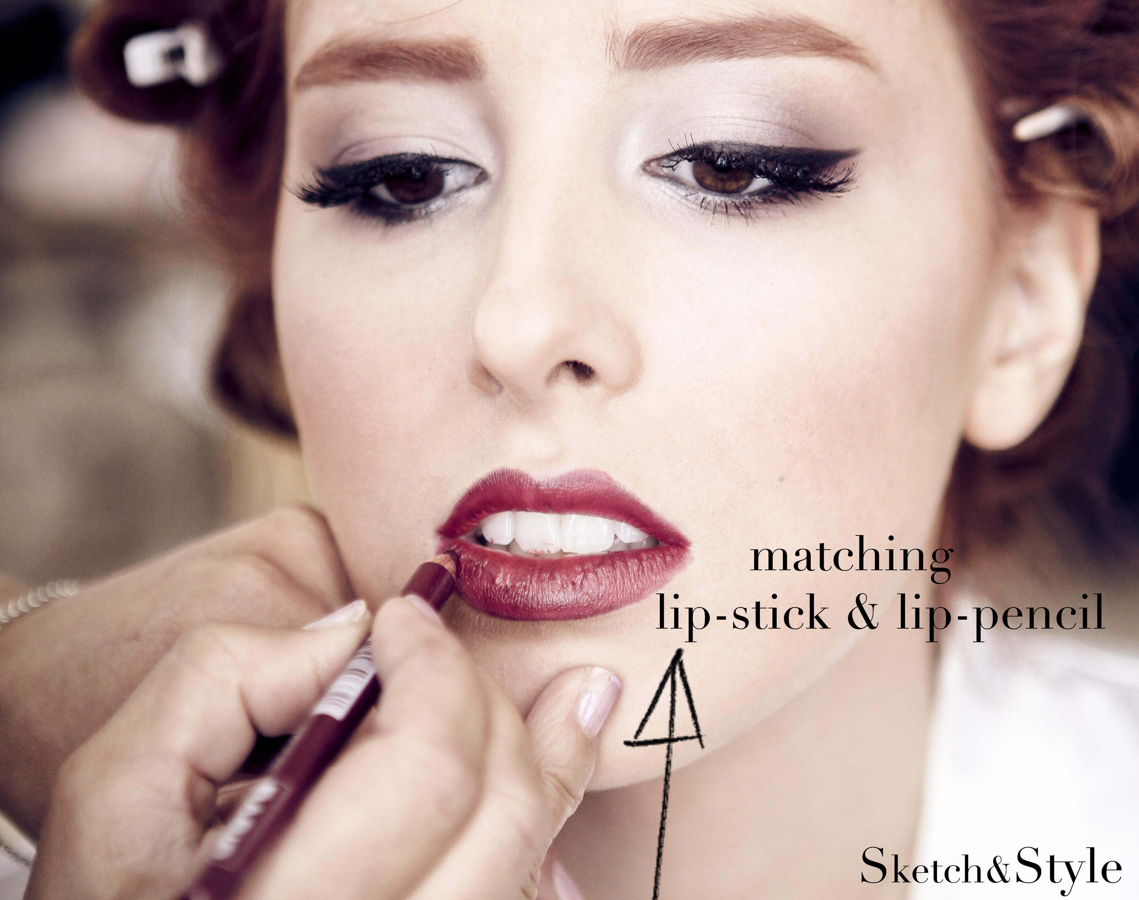 Bridal Make-up: Matching