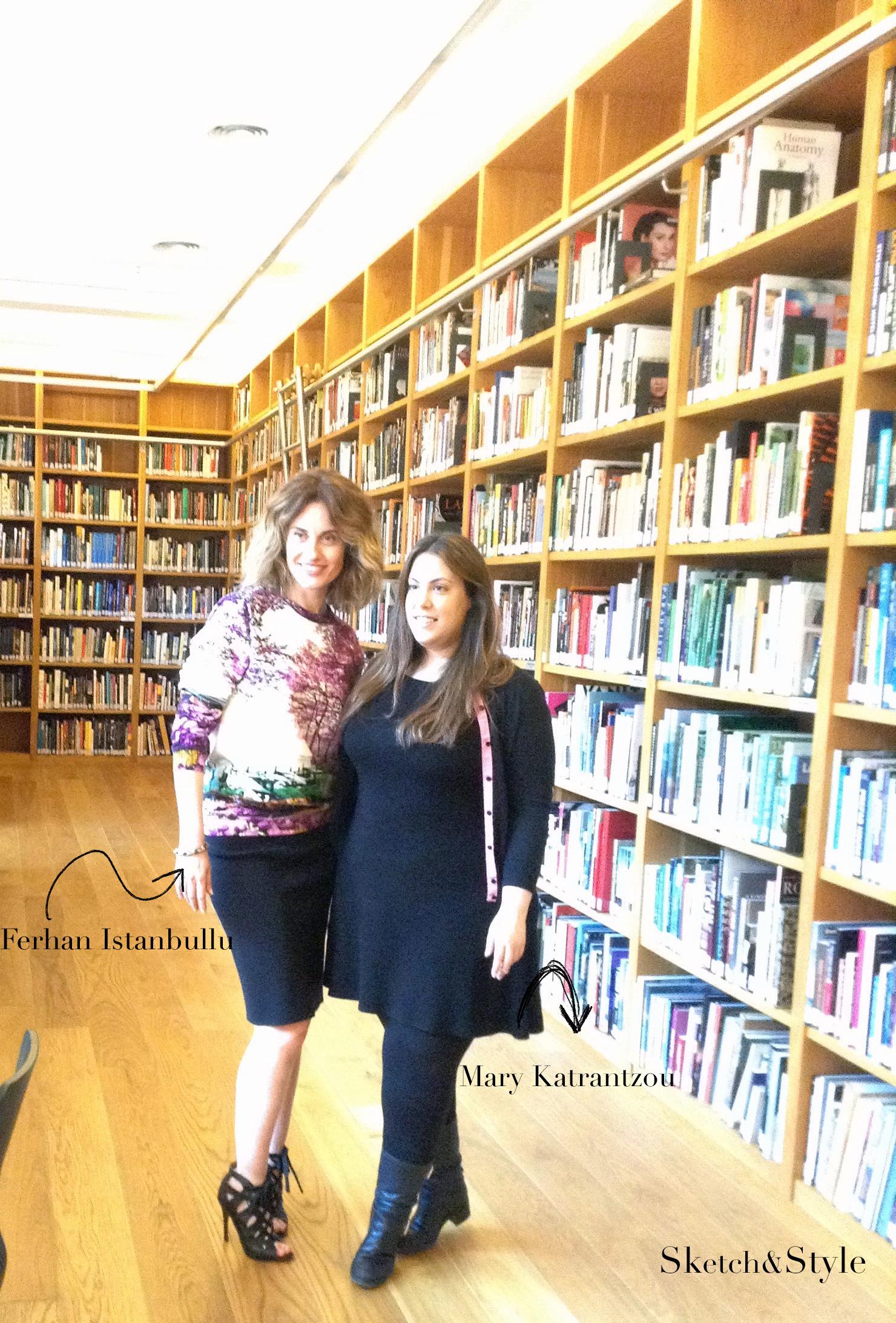 Mary Katrantzou & Ferhan Istanbullu