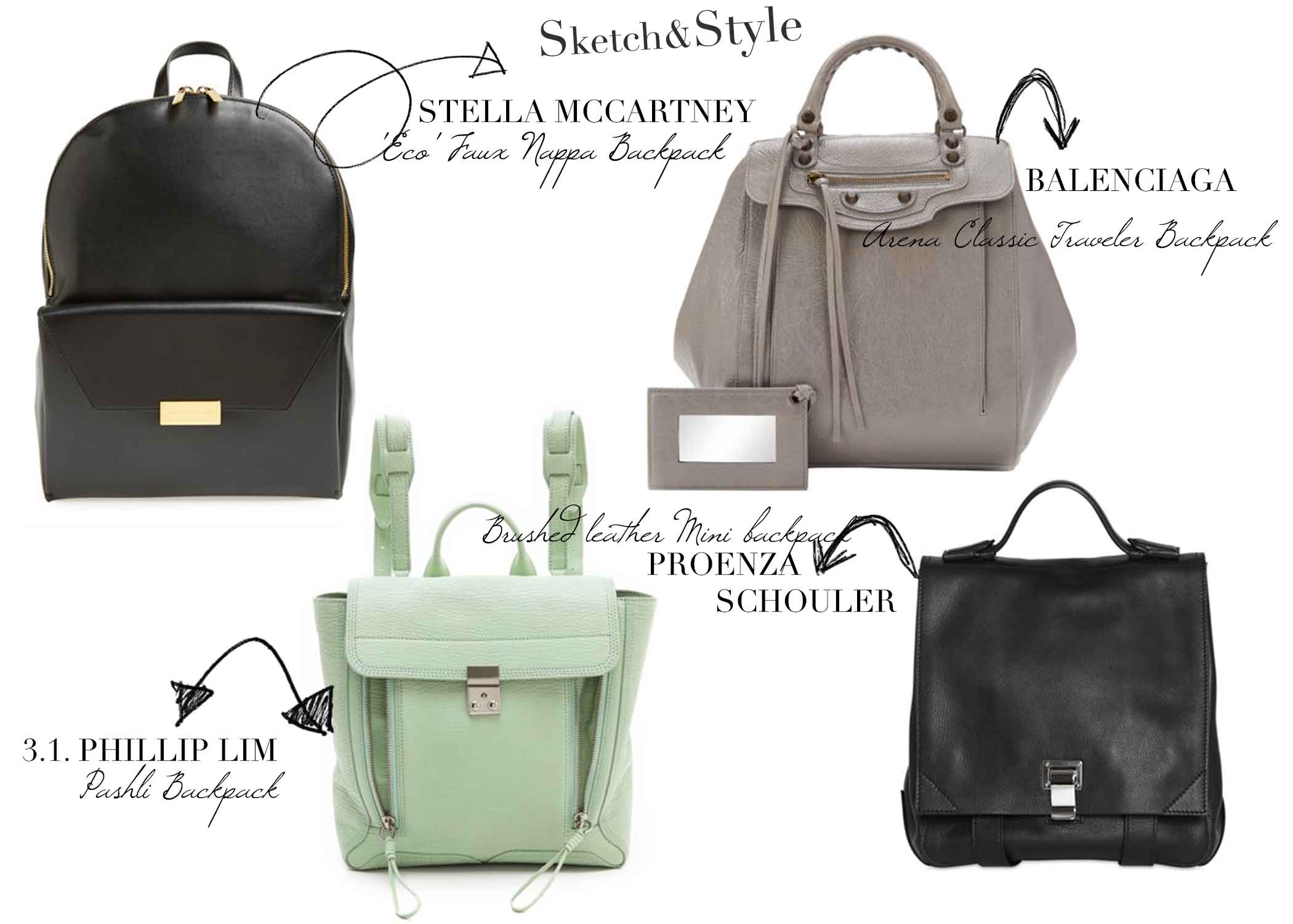 Designer Backpacks 2