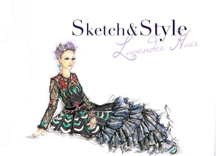 Nichole Richie - Lavender Hair