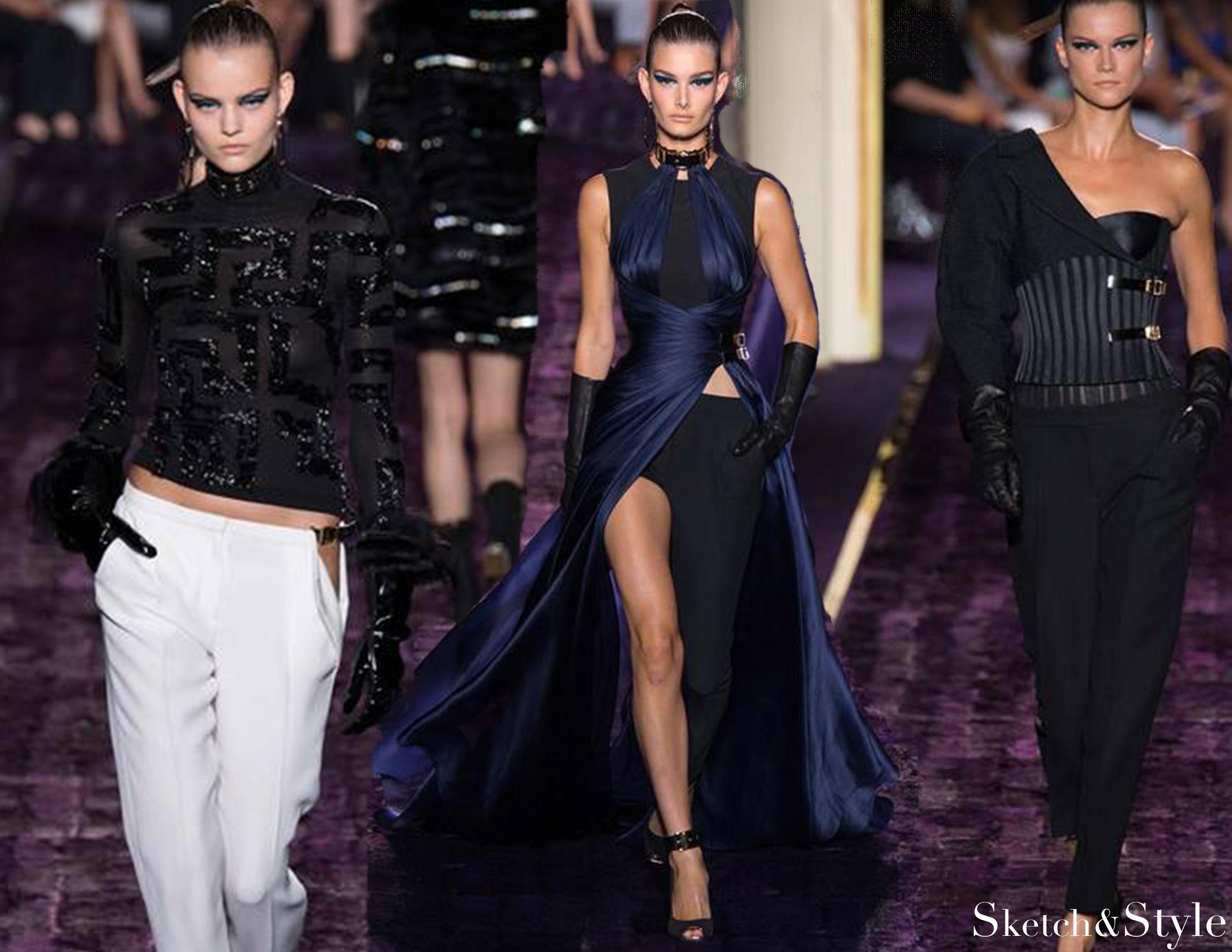 Atelier Versace Runway|Sketch&Style