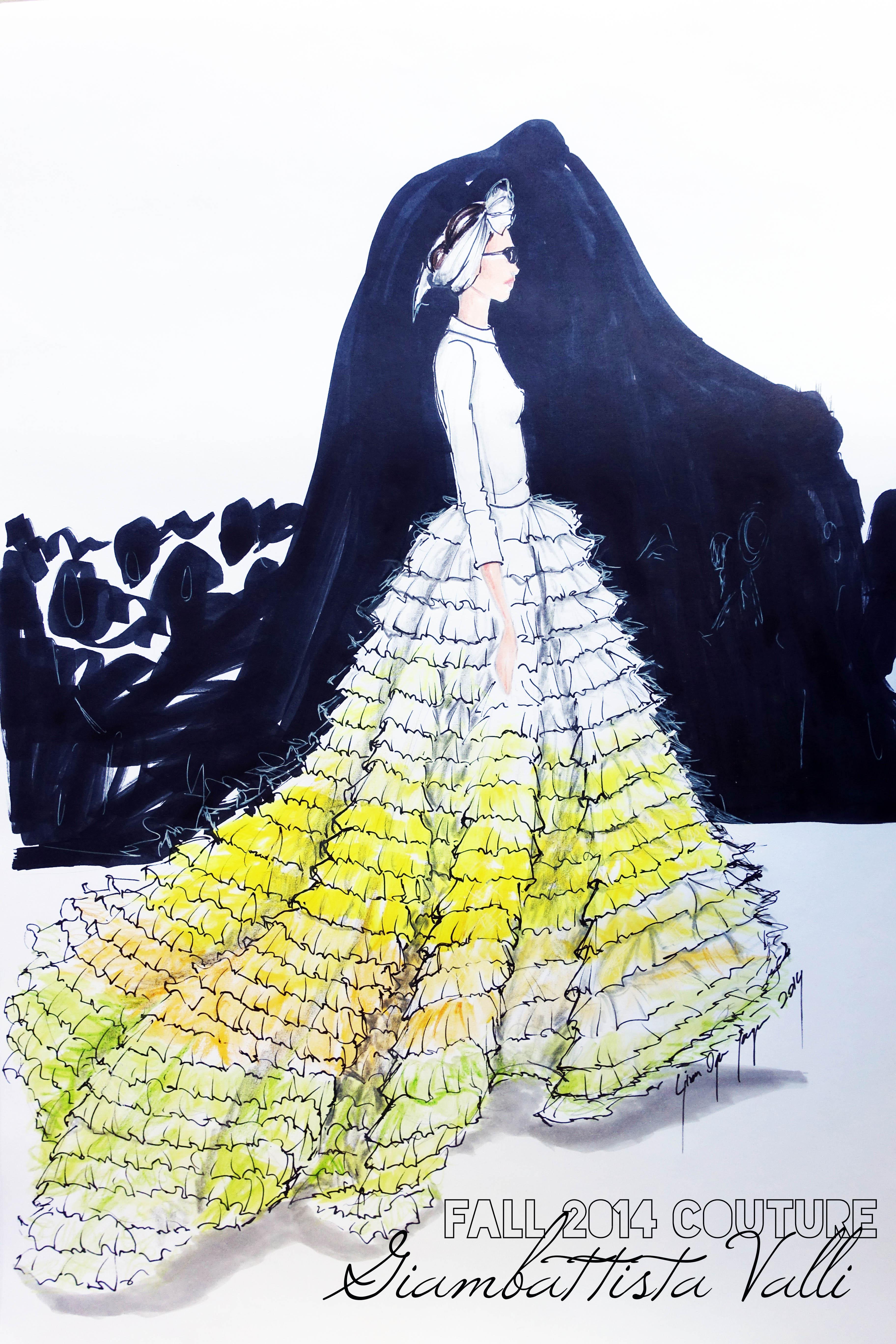 Giambattista Valli | Sketch&Style