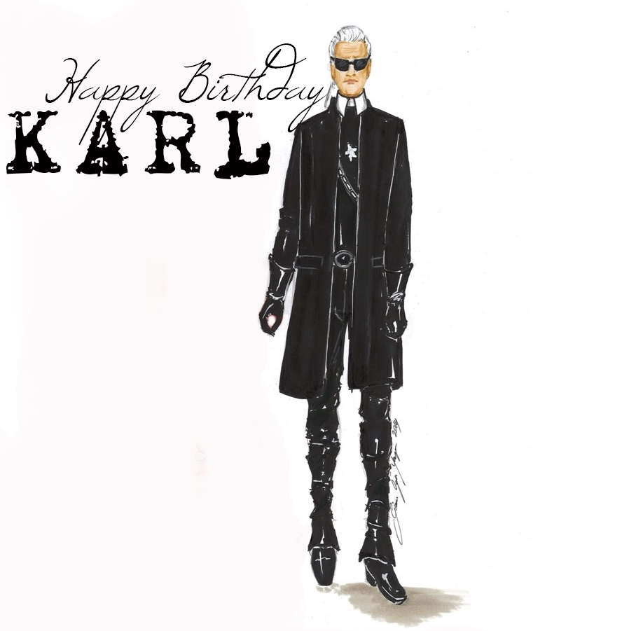 Happy Bırthday Karl|Sketch&Style