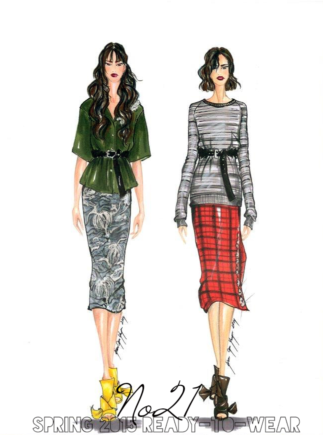No21- SS15 | Sketch&Style