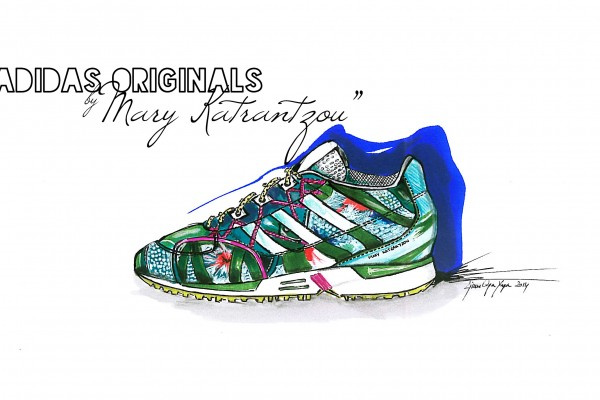 Adidas Originals by Mary Katrantzou|Sketch&Style