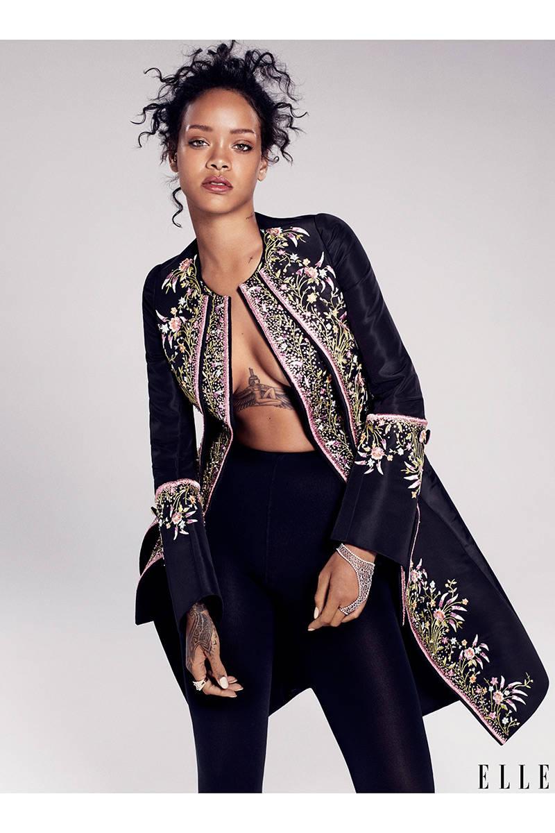 Elle Cover Story - Rihanna2