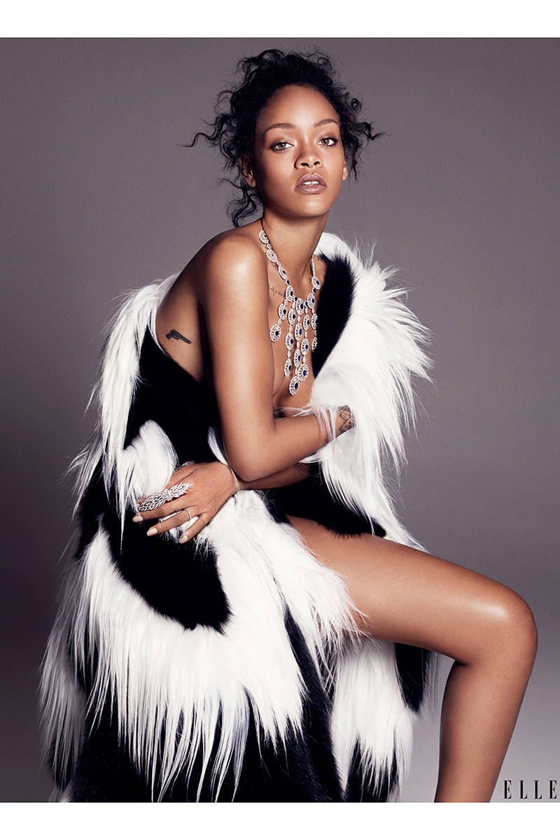 Elle Cover Story - Rihanna4