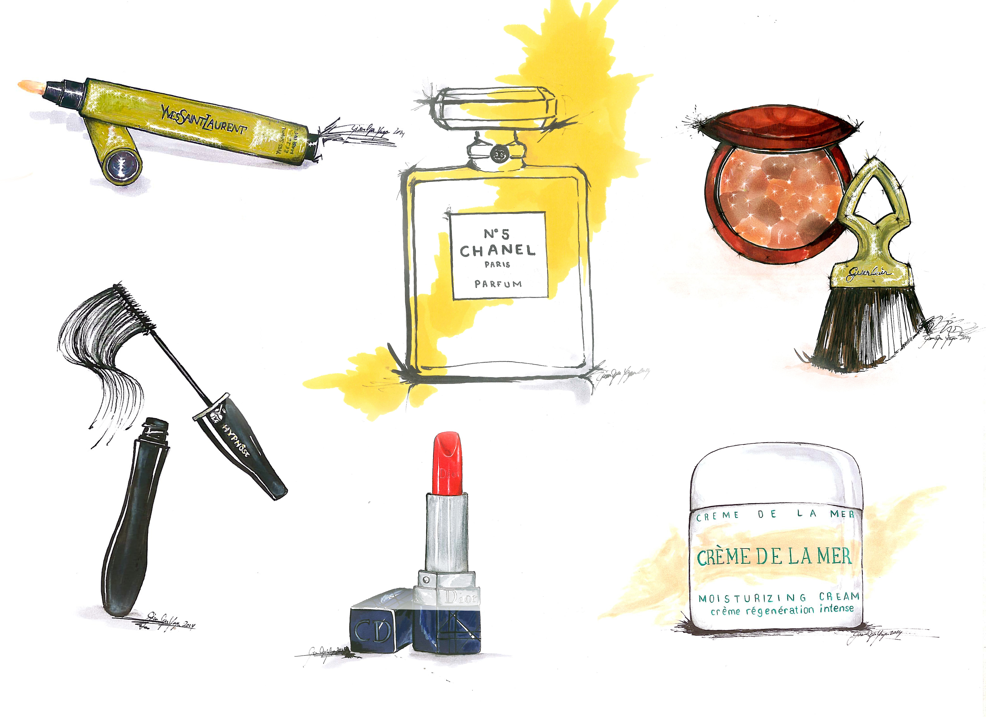Iconic Cosmetic Products | Sketch&Style