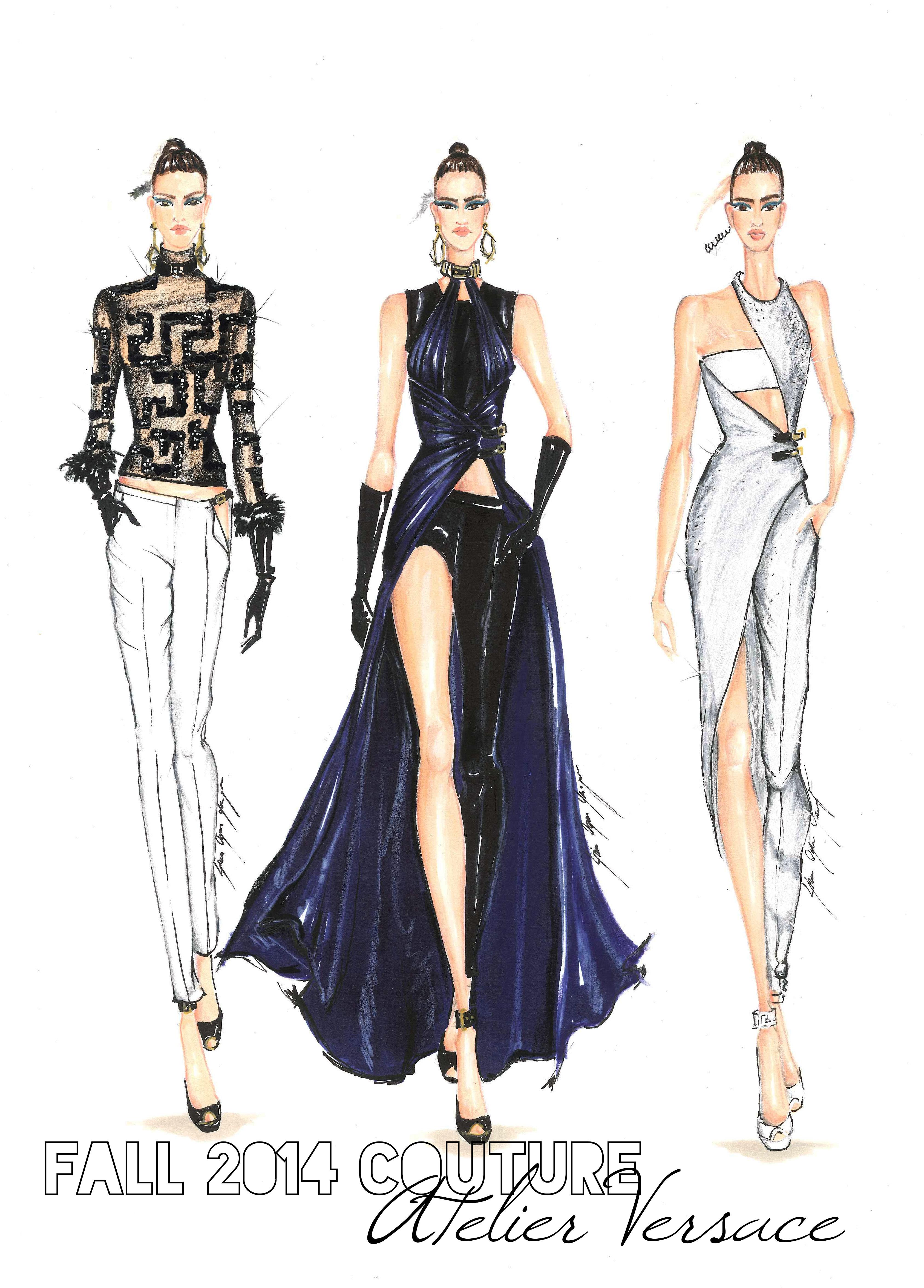 Donatella Versace Speaking